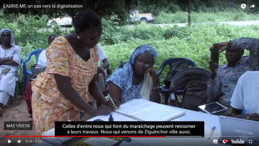 CAURIE Microfinance pionera en finanzas digitales en Senegal