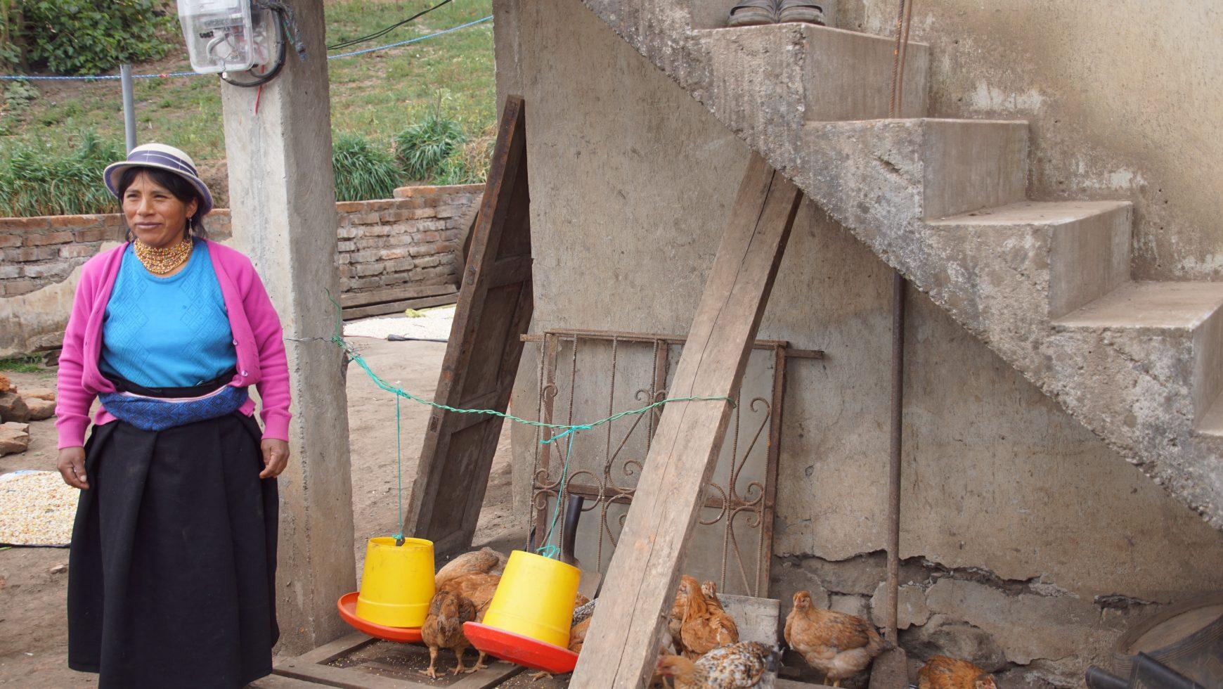 Blanca Piedad Yazuma, Ecuador